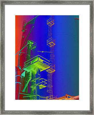 Chutes And Ladders Framed Print by MJ Olsen