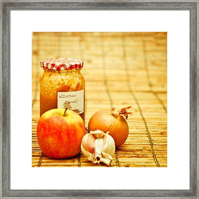 Chutney Framed Print by Tom Gowanlock