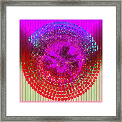 Circle1975-03 Framed Print by Li   van Saathoff