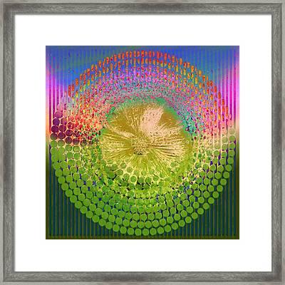 Circle1975-07 Framed Print by Li   van Saathoff