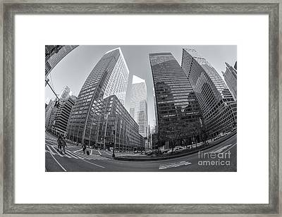Citigroup Center From Park Avenue II Framed Print by Clarence Holmes