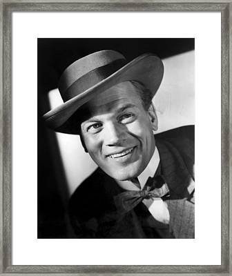 Citizen Kane, Joseph Cotten, 1941 Framed Print by Everett