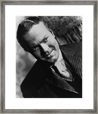 Citizen Kane, Orson Welles, 1941 Framed Print by Everett