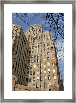 City Hall 2 Framed Print by Peter Chilelli