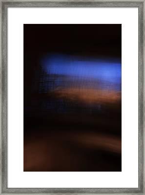 City Light Framed Print by Jl Zufiria