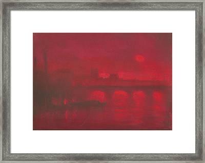 City Mist 1 Framed Print by Paul Mitchell