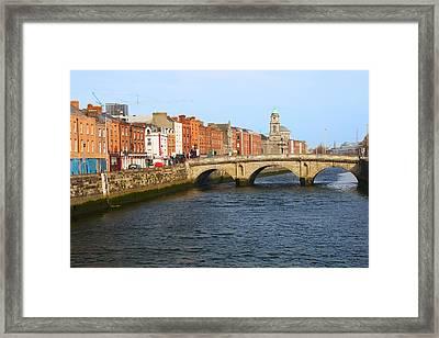 City Of Dublin Framed Print by Artur Bogacki