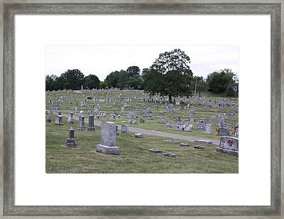 City Of The Dead Framed Print by James Collier