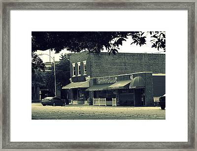 City Streets Series Framed Print by Wendy Mogul