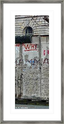 Citymarks Berlin Framed Print by Roberto Alamino