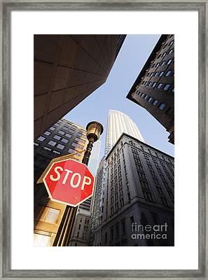 Cityscape Framed Print by Jeremy Woodhouse