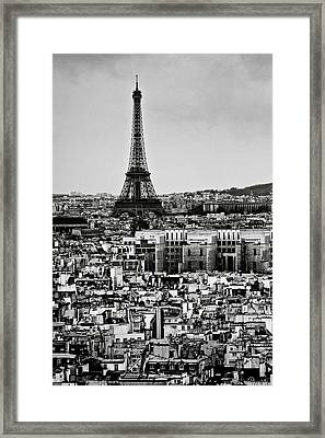 Cityscape Of Paris Framed Print by Sbk_20d Pictures