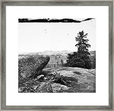 Civil War: Gettysburg, Pa Framed Print by Granger