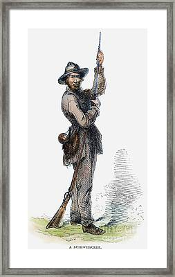 Civil War Guerilla Framed Print by Granger