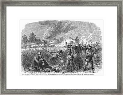 Civil War: Hainesville Framed Print by Granger