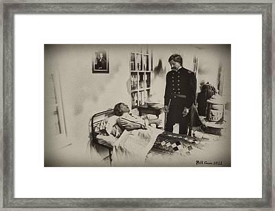 Civil War Hospital Framed Print by Bill Cannon
