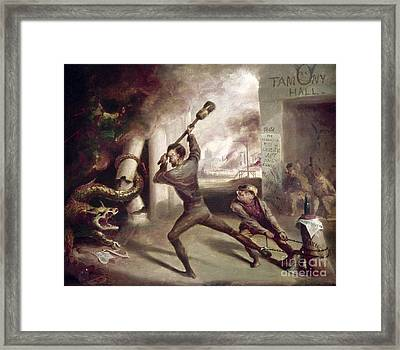 Civil War: Lincoln, 1862 Framed Print by Granger