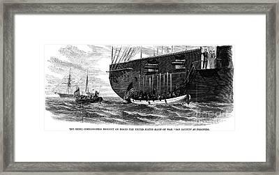 Civil War: Trent Affair Framed Print by Granger