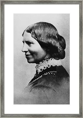 Clara Barton 1821-1912, American Framed Print by Everett