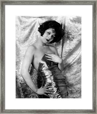 Clara Bow, 1926 Framed Print by Everett