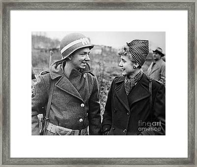 Clare Boothe Luce (1903-1987) Framed Print by Granger