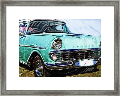 Classic Car Framed Print by Tilly Williams