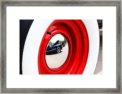Classic Cars 042 Framed Print by Charley Starnes