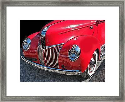 Classic Ford Pickup 1 Framed Print by Samuel Sheats