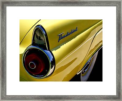 Classic T-bird Tailfin Framed Print by Douglas Pittman