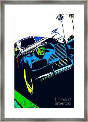 Classic Tilt Framed Print by Kimberley Joy Ferren