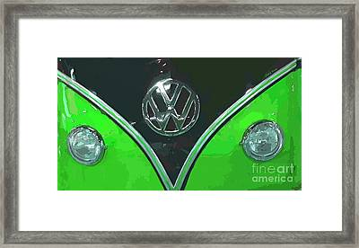 Classic Volkswagen 2 Framed Print by Cheryl Young