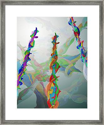 Classical Chaos Framed Print by Eric Heller
