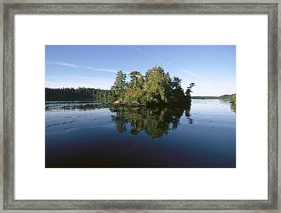 Clayoquot Sound Vancouver Island Framed Print by Flip Nicklin