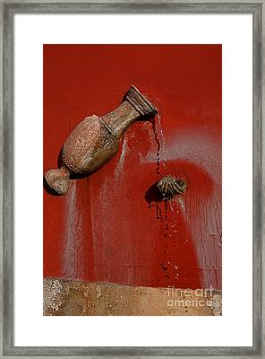 Clean Hands Happy Hands Framed Print by Nicola Fiscarelli