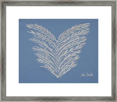 Clean Heart Framed Print by Ani Todd Smith