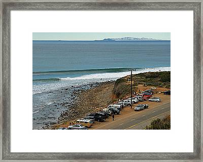 Clean Lines Framed Print by Ron Regalado