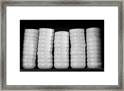 Clean White No.1 Framed Print by Chavalit Kamolthamanon