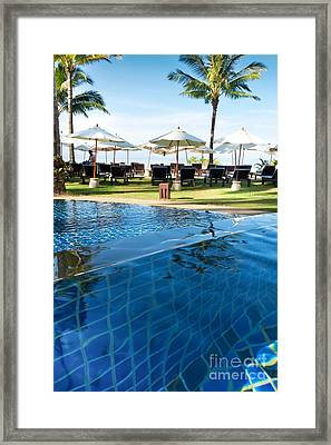 Clear Water Framed Print by Atiketta Sangasaeng