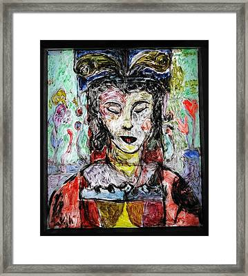 Cleopatra In Spring Framed Print by Mykul Anjelo