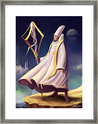 Cleric Framed Print by Michael Myers