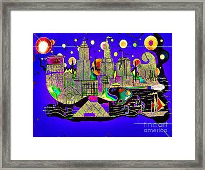 Cleveland  Rock Framed Print by Jose Vasquez