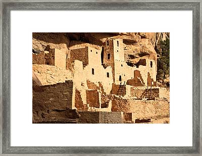 Cliff Palace Framed Print by Adam Pender