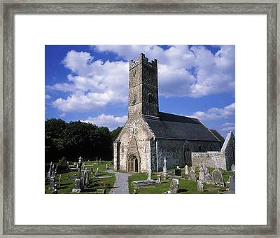 Clonfert Cathedral, Clonfert, Co Framed Print by The Irish Image Collection