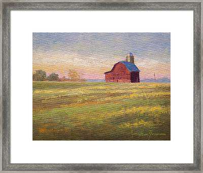 Close To Home Framed Print by Jonathan Howe