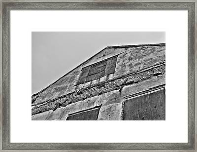 Closed Framed Print by Andrew Crispi