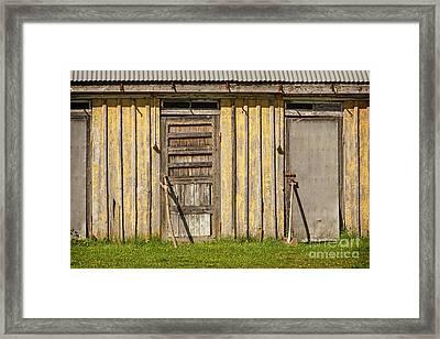 Closed Doors Framed Print by Lutz Baar