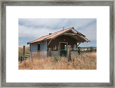 Closed For Inventory Framed Print by Kent Sorensen