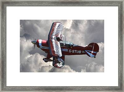 Cloud Dancer Framed Print by Kris Dutson