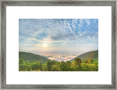 Cloud Sea Framed Print by Metro DC Photography
