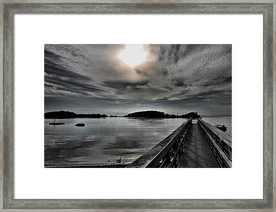 Cloud Unexpected Framed Print by Lori Cooney